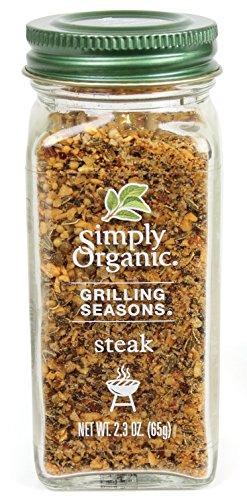 Simply Organic Grilling Seasons Steak Seasoning, 2.3 (Chicken Grilling Seasoning)