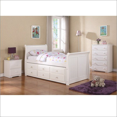 Donco Captains Sleigh Bed - Sleigh Storage