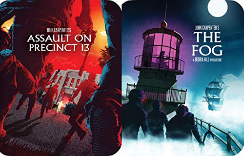 John Carpenter Limited Edition Steelbook Collection - The Fog & Assault on Precinct 13 2-Blu-ray Bundle