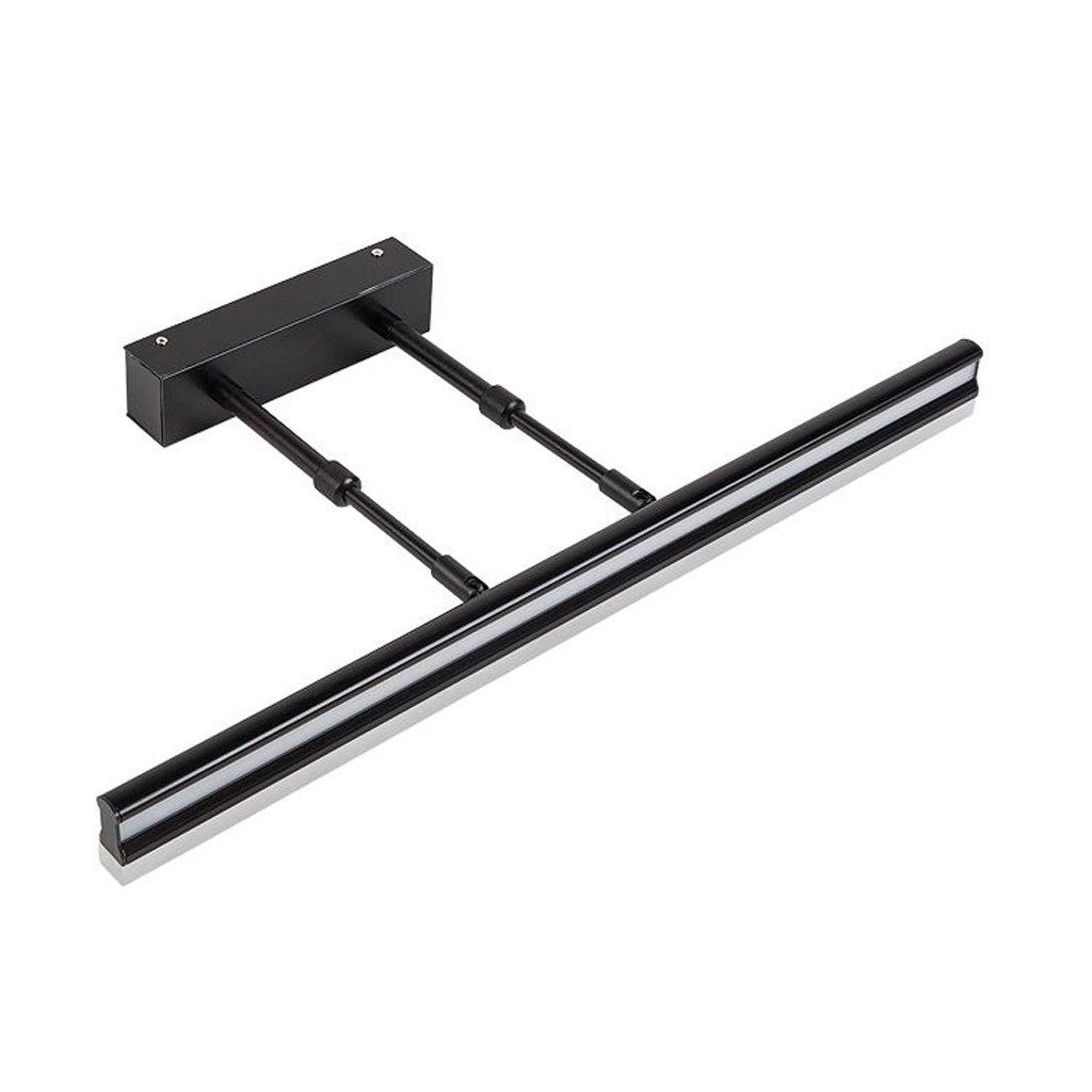 Hyzb Einfache Make-up Licht Badezimmer Wandleuchte, Aluminiumlegierung + Acryl, schwarz weißes Licht einstellbar (Größe   60CM 24W)