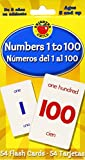 img - for Numbers 1 to 100 Flash Cards: Numeros del 1 al 100 (Brighter Child Flash Cards) book / textbook / text book