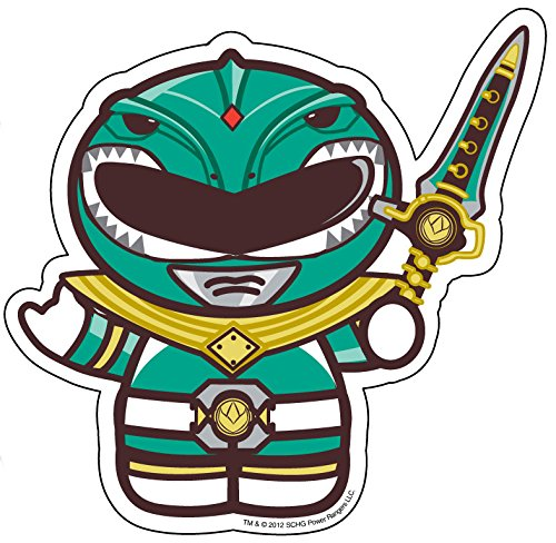 Amazon com green ranger sticker officially licensed artwork 4 x 4 long lasting sticker decal everything else