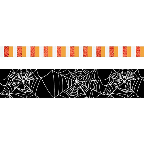 Spider Web Border Roll - PAPER HOUSE Life Org Washi Roll Set Halloween