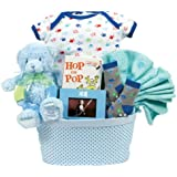 An Adorable Arrival Baby Gift Basket Boy
