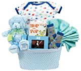 An Adorable Arrival Baby Gift Basket Boy