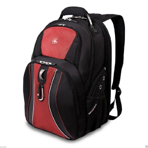 Swiss Gear Scansmart Laptop Backpack, Multiple Colors (Red)