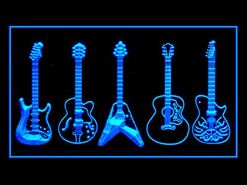Guitar Weapons Band Music Led Light (Guitar Sign)