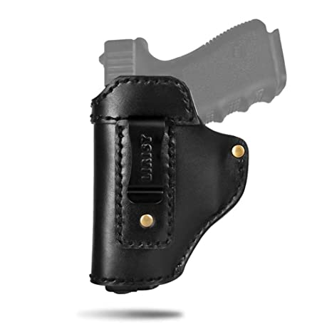 Concealed Carry Leather Holster Hunting Waistband Holster Gun Pouch For Compact To Medium Handguns Us Stock Hunting Bags & Holsters Holsters