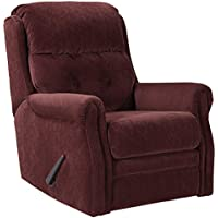 Ashley Furniture Glider Recliner in Mulberry Finish 1880327