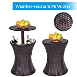 Giantex Outdoor Cool Bar Rattan Style Patio Cool