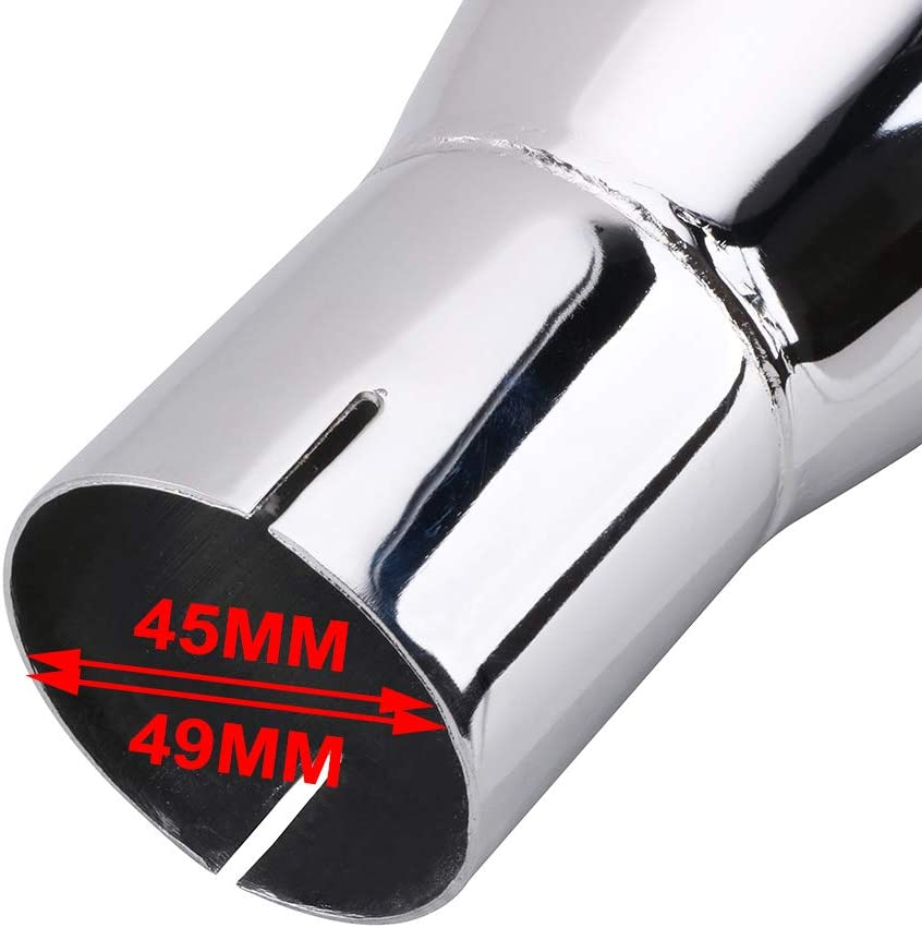 Street Glide Road King Ultra Classic Electra Glide AnXin Classic Chrome Megaphone Silencieux d/échappement pour Harley Touring Road Glide