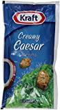 Kraft Creamy Caesar Dressing, 2-Ounce Pouches (Pack of 60)