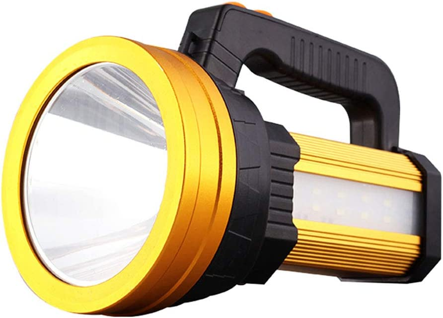 LED Rechargeable Handheld Searchlight Linterna Camping LED al aire ...