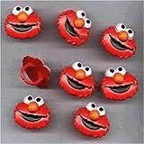 Sesame Street Elmo Cupcake Rings