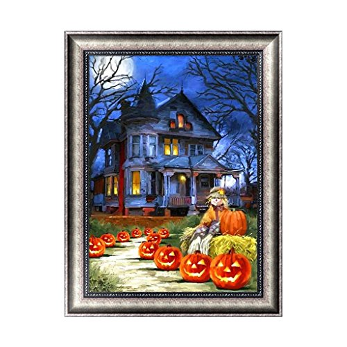 (cici store DIY 5D Diamond Painting,Embroidery Cross Stitch Crafts Christmas Halloween Home Decor)