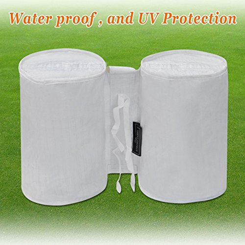 Strong Camel White Canopy Weights Bag Leg Weights for Pop up Canopy Tent Sand Bag 4 pcs Bag ONLY