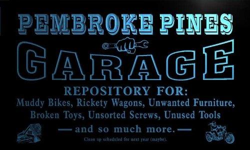 pp2200-b Pembroke Pines Garage Repair Shop Room Bar Beer Neon Light - Pembroke Of Shops Pines