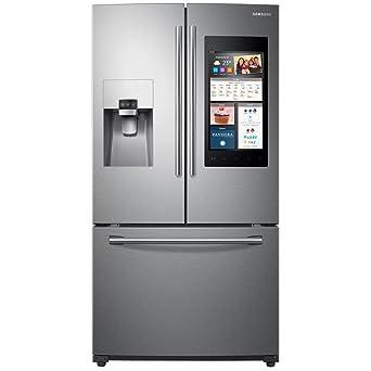 capacity 3  door french door refrigerator with family amazon com  samsung rf265beaesr 24 cu  ft  capacity 3  door french      rh   amazon com