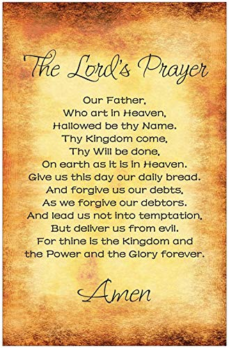 Praying the Lord's Prayer, daily