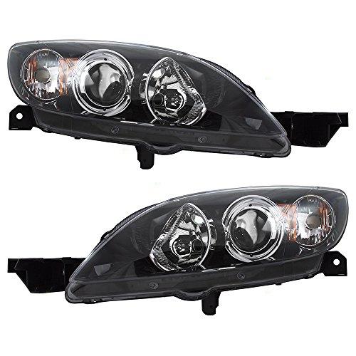 04 mazda 3 hatchback headlamps - 4