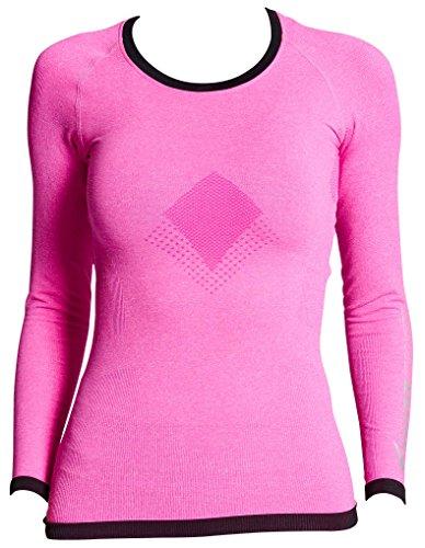 Supacore Damen Training Long Sleeve Compression Top Welt nur Seamless Compression Kleidungsstücke für Sport, Training und Recovery