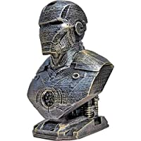 Unique Shape Marvel Super Hero Iron Man Bust Showiece,Avengers end Game Action Figure for Kids and Used to Decorate Your Kids Table,Room etc.