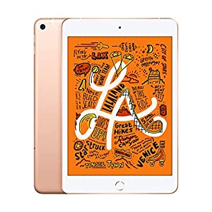 Apple iPad mini (7.9-inch, Wi-Fi + Cellular, 64GB) – Gold