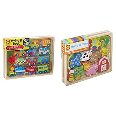 ALEX Toys Little Hands String and Beep Little Hands String A Farm: Toys & Games