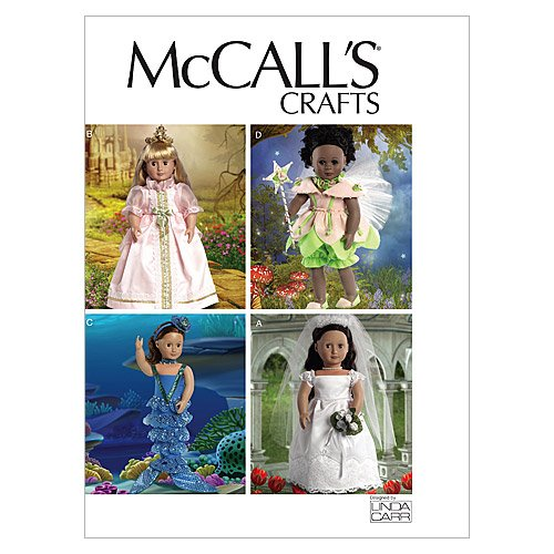Fairy Doll Pattern (McCall's Patterns M6452 18