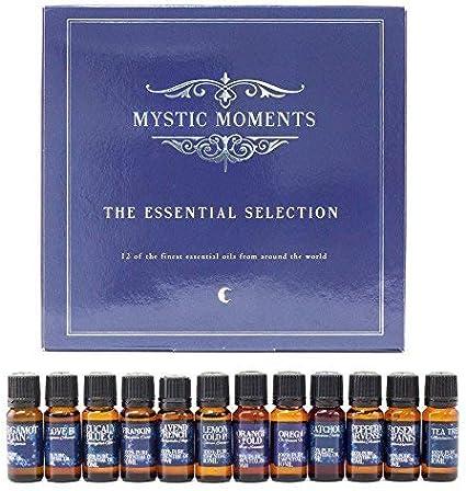 Mystic Moments - Selección de aceites esenciales (12 unidades, 100%): Amazon.es: Hogar