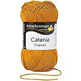 Schachenmayr Catania, 383 bronzo-marrone, 50g Gomitolo, 100% Cotone, lavoro a maglia