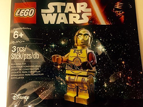 LEGO, Star Wars: The Force Awakens, C-3PO Exclusive Figure](Red Car Lego)