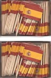 2 Boxes of Mini Spain Toothpick Flags%2C