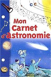 Mon carnet d'astronomie