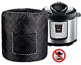 Electric Pressure Cooker Cover 6 QT - Black Dustproof Accessories Appliances Cover