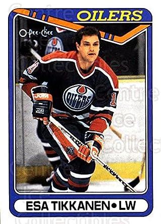 840d7d124 Amazon.com  (CI) Esa Tikkanen Hockey Card 1990-91 O-Pee-Chee (base ...