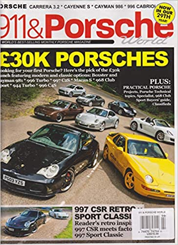 911 & Porsche World Magazine September 2018 Single Issue Magazine – 2018