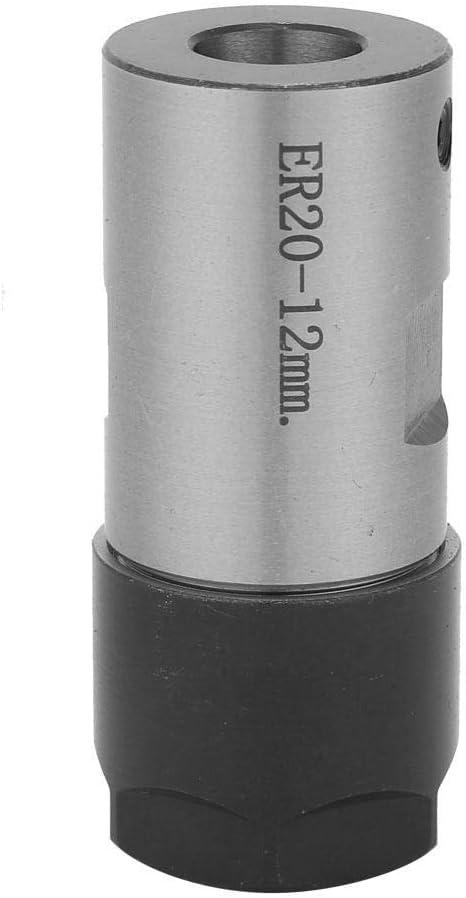 12mm C25-ER20-45L Barra de Corte de Husillo Con Soporte de Pinza Barra de Herramienta de Sujeci/ón Del Eje Del Motor Para Fresado CNC Rectificado Aburrido