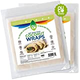 NUCO All-Natural Paleo Gluten-Free Vegan Coconut Wraps.