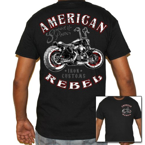 Men's Biker Shirts: Amazon.com