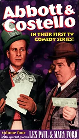 Abbott Costello In Their First TV Comedy Series Vol 4 With Les Paul