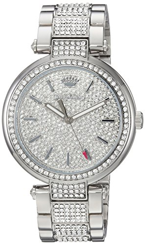 Juicy Couture Women's 'SIENNA' Quartz Stainless Steel Dress Watch, Color:Silver-Toned (Model: 1901576) (Juicy Couture Model)