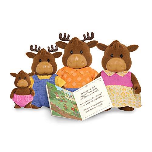 (Li'l Woodzeez Moose Doll Family & Book )