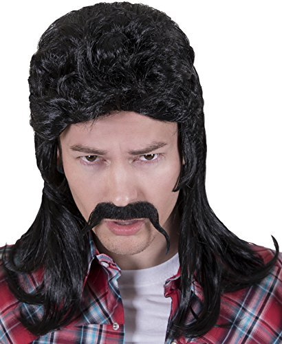 Kangaroo Halloween Accessories - Redneck Wig,