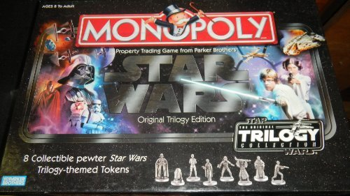 Parker Monopoly: Star Wars Original Trilogy Edition with ...