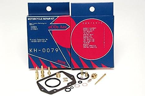 amazon com honda ct90 k1 keyster carb kit 1969 late model automotive rh amazon com