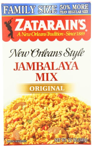 Zatarain's Jambalaya Family Size, 12 oz (Case of 8)
