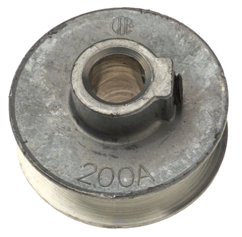 "B00004RAO8 Chicago Die Cast 200A 2"" x 1/2"" Die-Cast V-Grooved Pulley (Discontinued by Manufacturer) 5137GX052ZL"