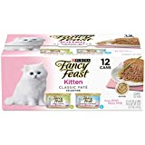 Cheap Purina Fancy Feast Kitten Classic Pate Collection Cat Food – (2 Packs Of 12) 3 Oz. Cans