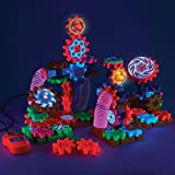 Learning Resources Gears! Gears! Gears! Lights & Action Building Set, Gear Toy, 121 Pieces
